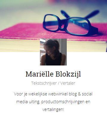 Tekstschrijver blogger webwinkel
